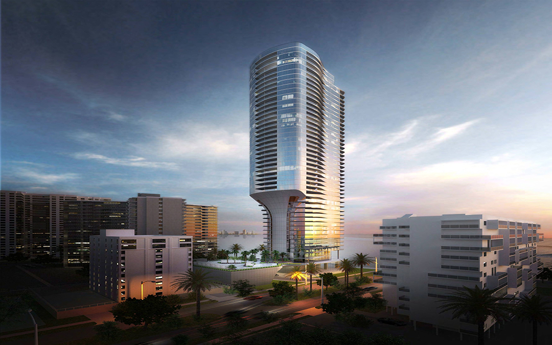 46-Story Una Residences Submitted For UDRB Review, Includes New Baywalk