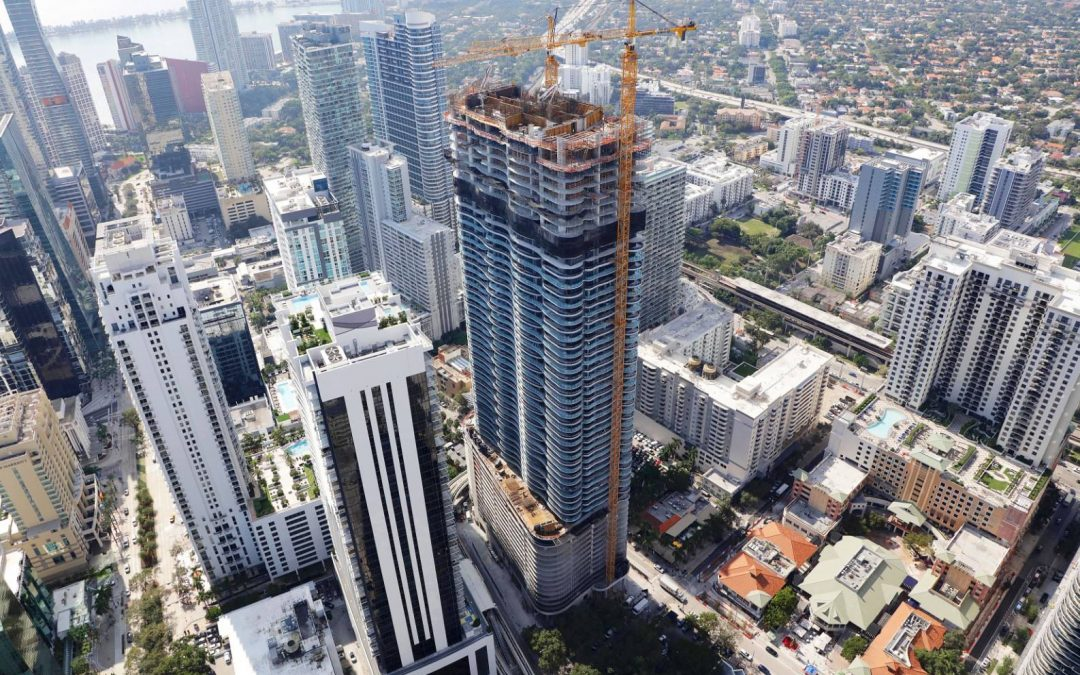 Brickell Flatiron About To Top Off At 64 Stories, Becoming Tallest Condo South Of New York