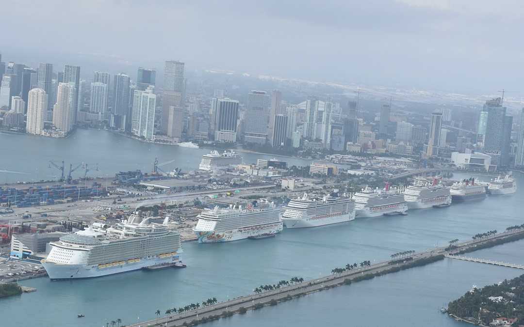 Photos: This Is What A Record-Breaking Day At PortMiami Looked Like, With 52,000 Cruise Passengers