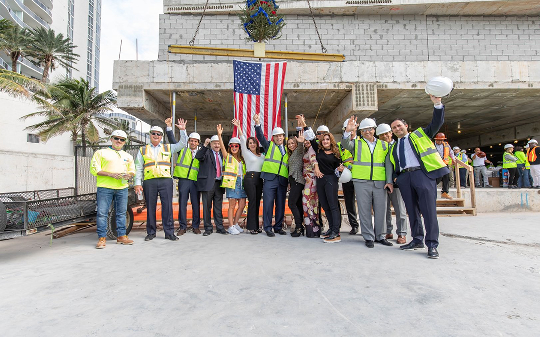 Ritz-Carlton Residences Sunny Isles Tops Off At 52 Stories