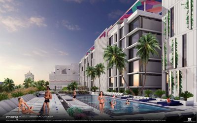 Construction Underway On 202-Room Moxy By Marriott Hotel In South Beach, With New Bars And Restaurants