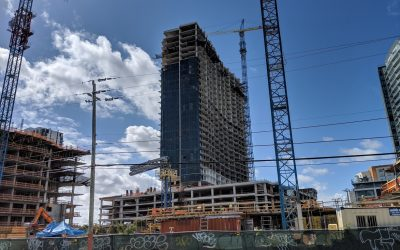 First Glass Installed At 719-Unit Chiquita Apartment Project In Midtown Miami