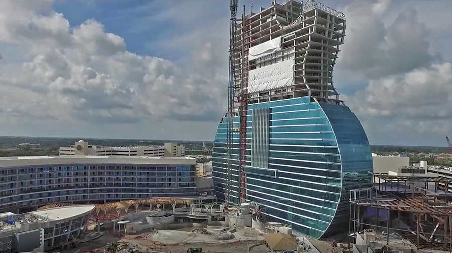 $1.5B GUITAR TOWER AT HARD ROCK ON TRACK FOR AUGUST COMPLETION: NEW DETAILS