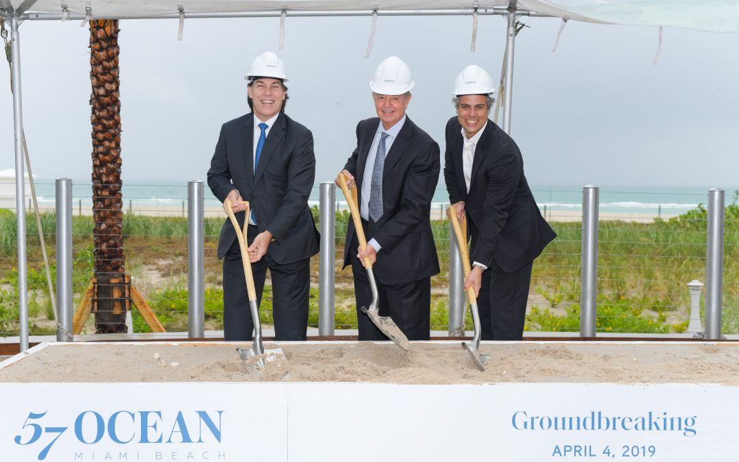 BRAZILIAN BILLIONAIRE BREAKS GROUND ON 57 OCEAN CONDO TOWER, WHERE UNITS COST UP TO $31 MILLION