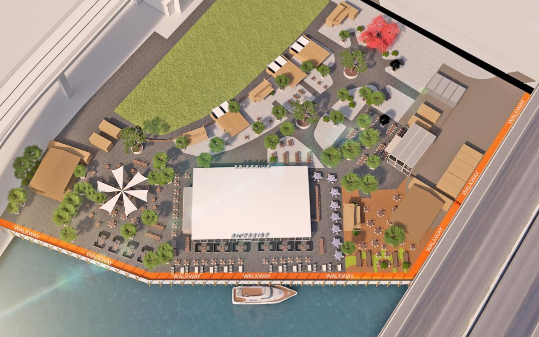 NEXT TO BRICKELL CITY CENTRE, 7 RESTAURANTS & TAP ROOM PLANNED AT MIAMI RIVERSIDE