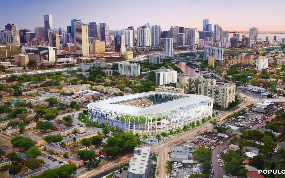 BECKHAM BUYING OVERTOWN LAND, WILL APPLY FOR STADIUM APPROVAL THERE