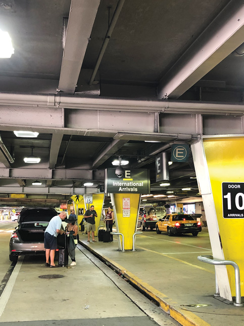 Ridesharing use accelerates 63% at airport