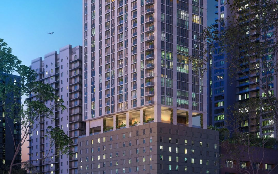 YOTELPAD REACHES 95 PERCENT SOLD, TOWER CRANE INSTALLED & GC NAMED