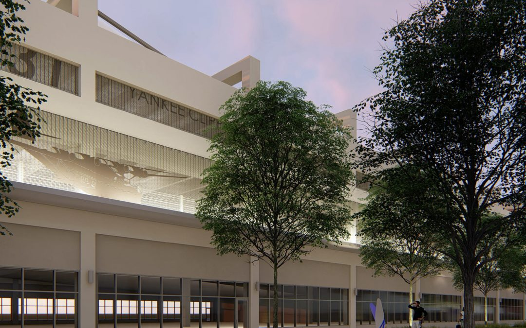 TO MEET PUBLIC ART REQUIREMENT, MIAMI PARKING AUTHORITY PROPOSES $287K STAINLESS STEEL MESH DECORATED WITH SEAPLANE FOR NEW GARAGE