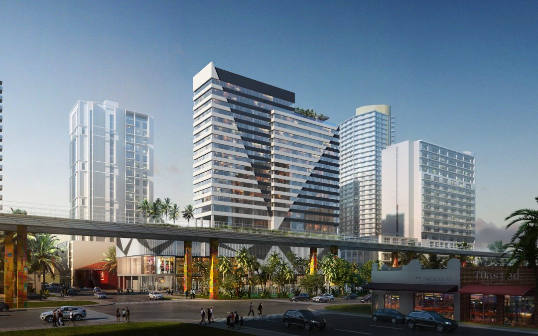 24-STORY AC HOTEL BY MARRIOTT & ELEMENT BY WESTIN NEAR BRICKELL CITY CENTRE GETS CONSTRUCTION PERMITS & FINANCING