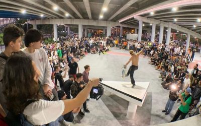 MULTI-MILLION DOLLAR LOT 11 SKATE PARK IS NOW OPEN UNDER HIGHWAY RAMP, A FIRST FOR MIAMI