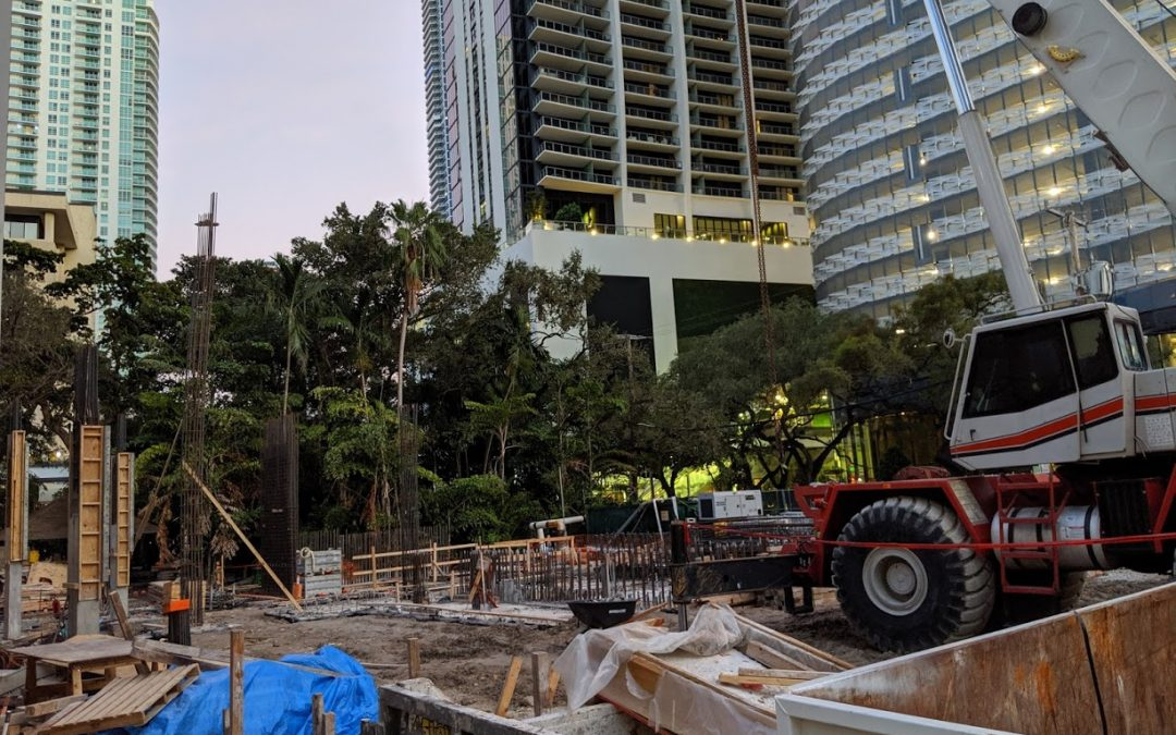 VERTICAL CONSTRUCTION BEGINS AT CITIZENM HOTEL IN BRICKELL WHERE 252 MICRO-SIZED ROOMS ARE BEING BUILT