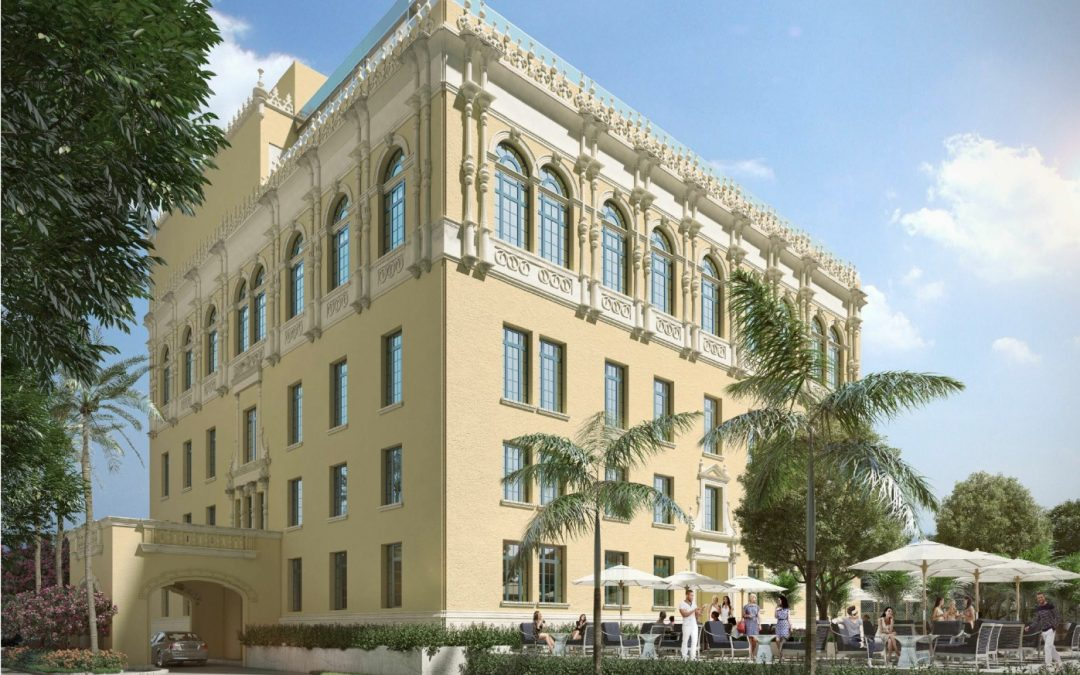 DAVID GRUTMAN FILES PLANS TO BUILD MYSTERIOUS MULTI-LEVEL RESTAURANT AT HISTORIC MIAMI WOMEN'S CLUB