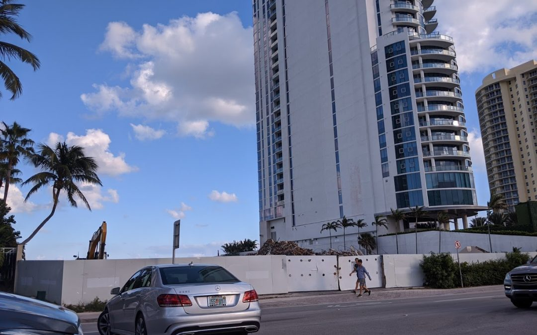 DEZER DEMOLISHES OCEANFRONT BUILDING IN SUNNY ISLES WHERE MONACO HOTEL WILL SOON RISE