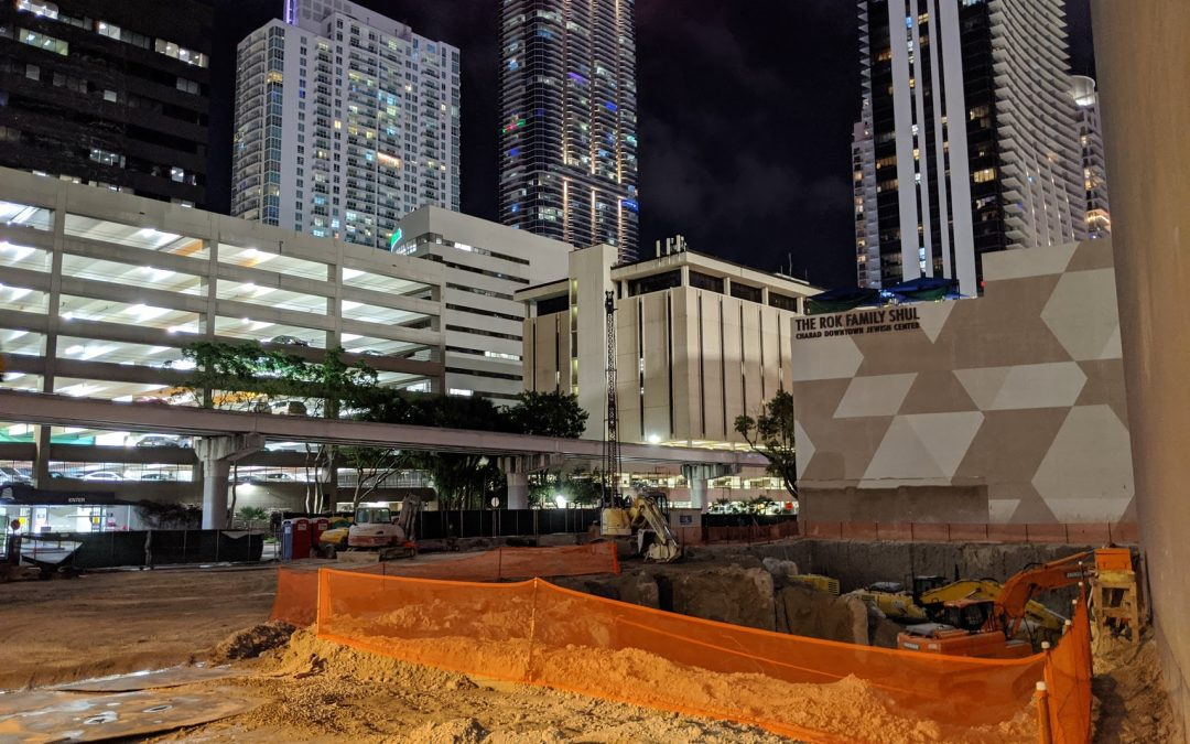 CONSTRUCTION CONTINUES AT MIAMI'S SECOND TALLEST OFFICE TOWER, 830 BRICKELL