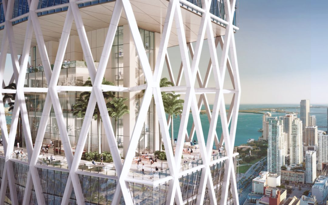 HINES WILL BREAK GROUND AT ONE WORLDCENTER WHEN AN ANCHOR TENANT IS SIGNED, WILL INCLUDE RESIDENTIAL