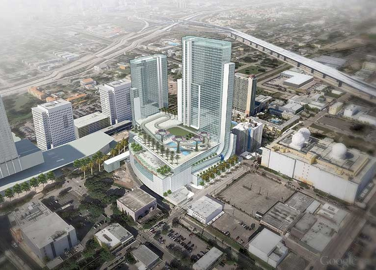 MARRIOTT MARQUIS MIAMI WORLDCENTER NOW FINALIZING LOAN FOR 2020 GROUNDBREAKING, WOULD BECOME REGION'S BIGGEST HOTEL