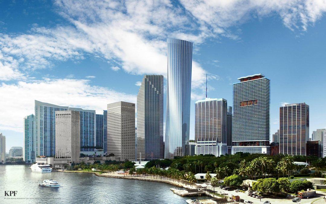 ONE BAYFRONT PLAZA APPROVED BY FEDERAL AVIATION ADMINISTRATION AT 92 STORIES & 1,049 FEET (AGAIN)