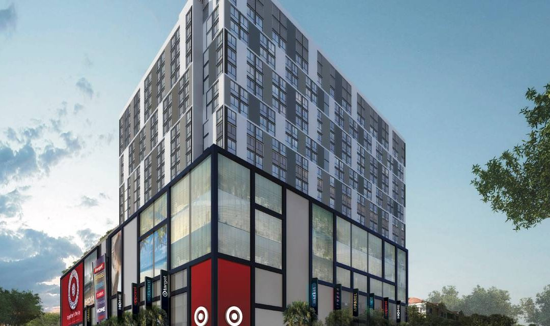 TARGET & ALDI COMING TO BLOCK 55 ACROSS FROM VIRGIN TRAIN'S MIAMICENTRAL, WITH 506 APARTMENTS ABOVE