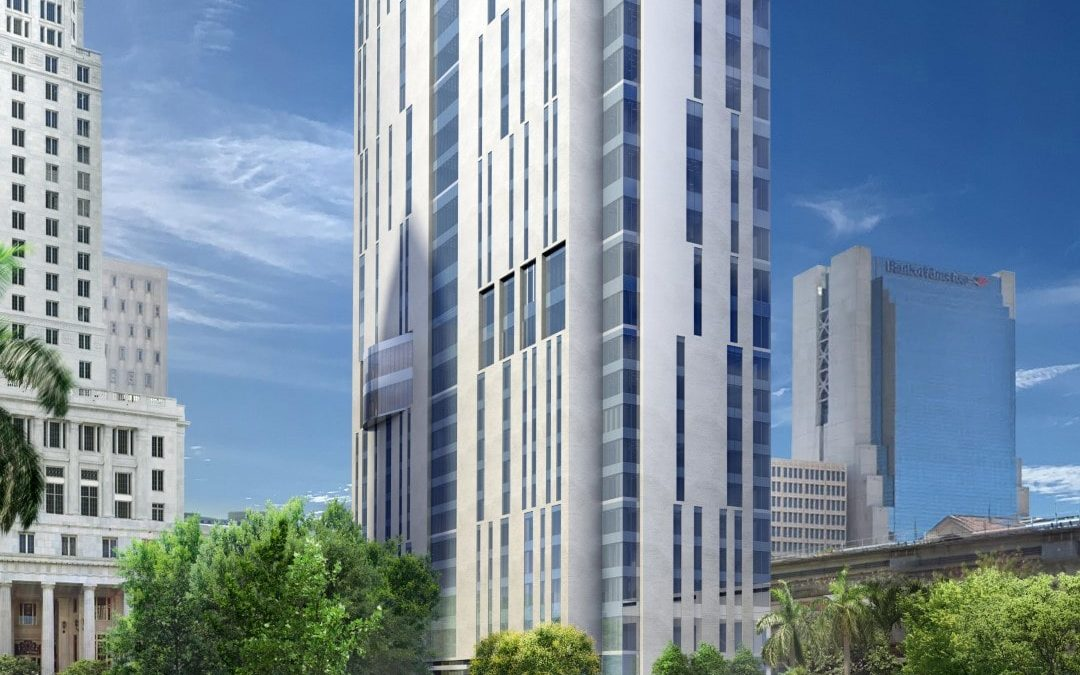 AUSTRALIAN DEVELOPER SUBMITS APPLICATION TO BUILD 435-FOOT MIAMI-DADE CIVIL COURTHOUSE IN DOWNTOWN TO FAA