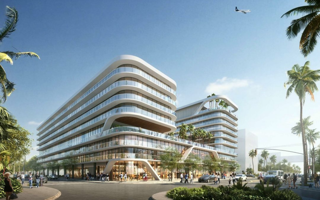 YOU'LL BE ABLE TO WATCH PLANES LANDING & TAKING OFF FROM THE ROOFTOP DECK OF THIS NEW ARQUITECTONICA-DESIGNED HOTEL NEAR THE AIRPORT