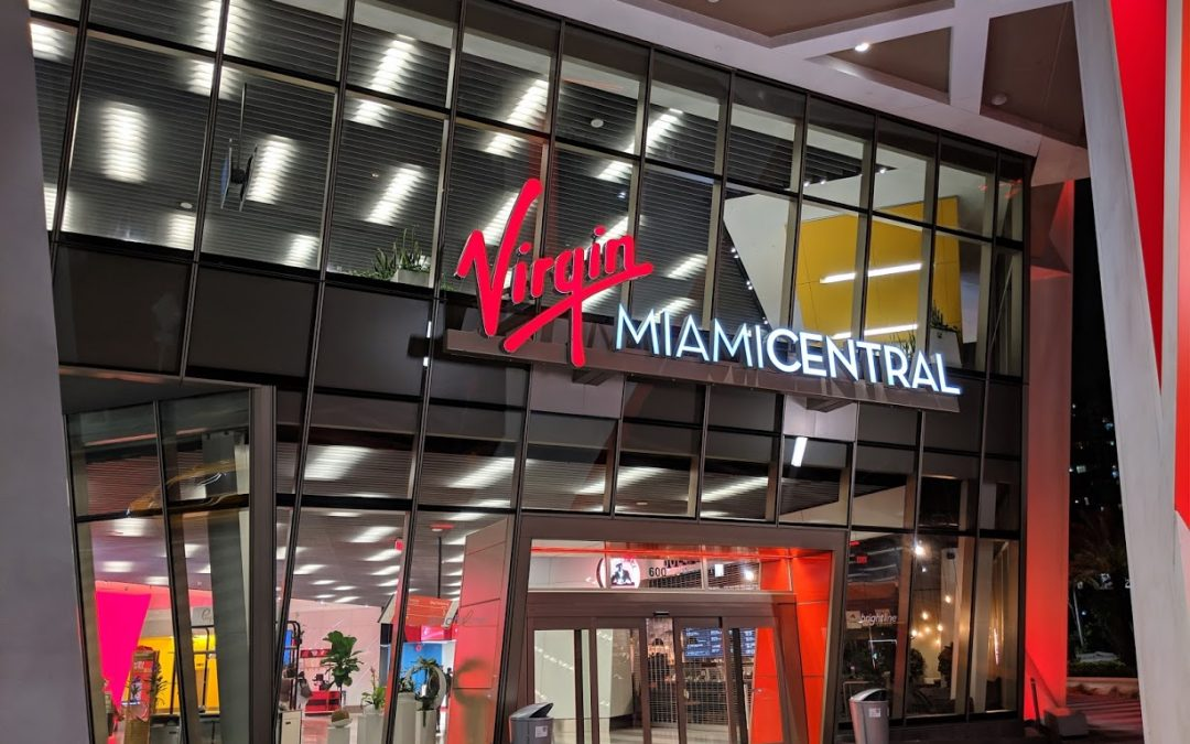 VIRGIN TRAINS PASSENGER COUNT +56% IN JANUARY; GROUNDBREAKING IN AVENTURA & BOCA SOON, DISNEY STATION DESIGN UNDERWAY