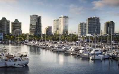 MR. C COCONUT GROVE GETS FAA APPROVAL FOR 315-FOOT TWIN TOWERS, UTILITIES DEAL SIGNED