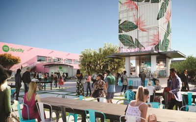 SPOTIFY TO OPEN A HEADQUARTERS OFFICE AT THE OASIS IN WYNWOOD, WHICH WILL OPEN LATER THIS YEAR