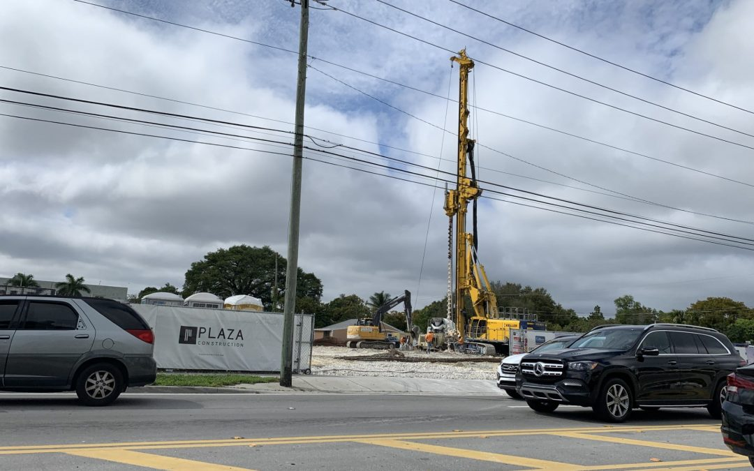 PHOTOS: FOUNDATION WORK UNDERWAY AT THE GATEWAY AT WYNWOOD