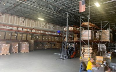 With online buys, Doral warehousing in prime position