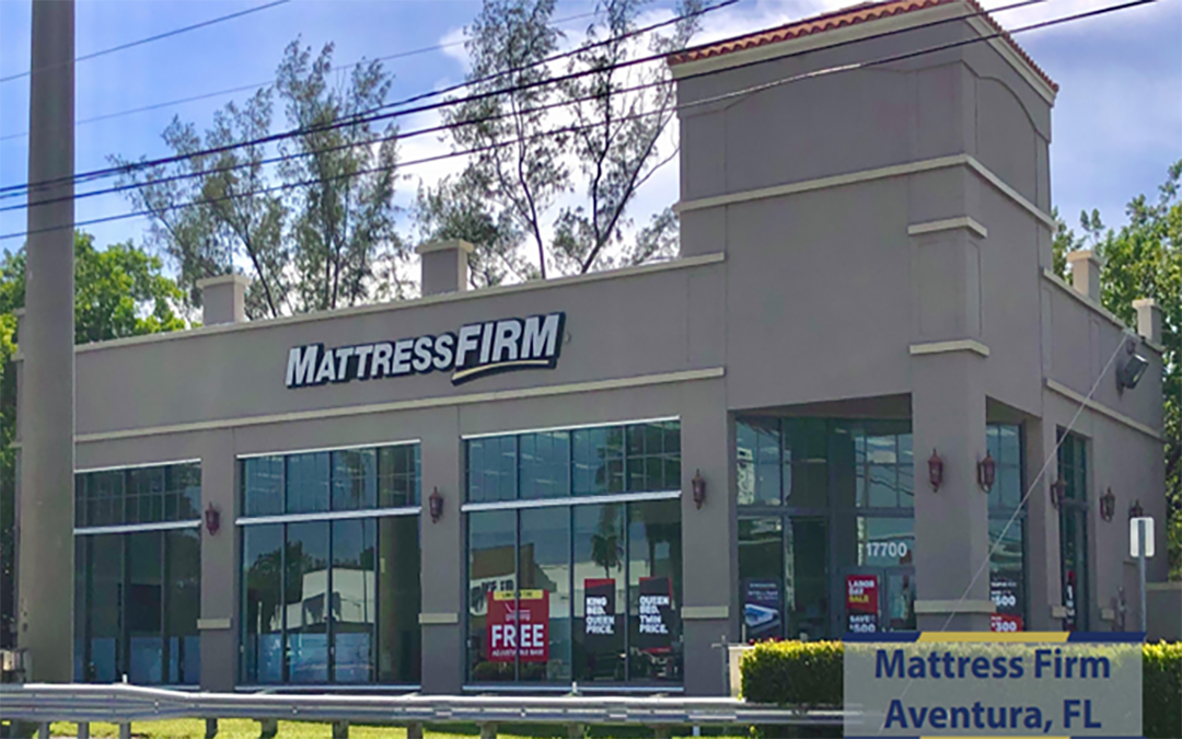 Mattress Firm (NNN) Commercial Property  Aventura, Florida
