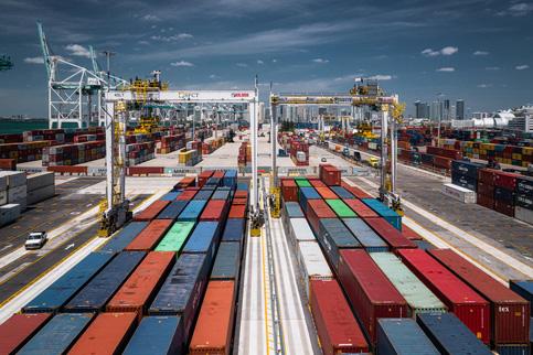 Despite pandemic, PortMiami sets all-time cargo record