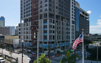 Grand Station Tower On Track To Open In Downtown Miami Next Spring With 300 Apartments